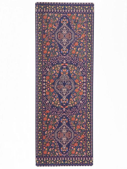 Enchanted Garden Indigo Yoga Mat