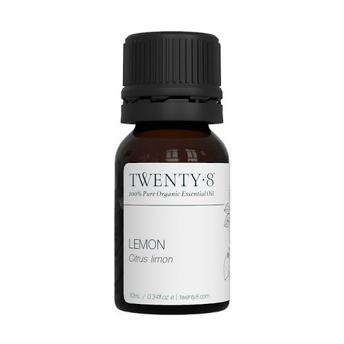 Lemon Pure Essential Oil - 10ml (Certified Organic)