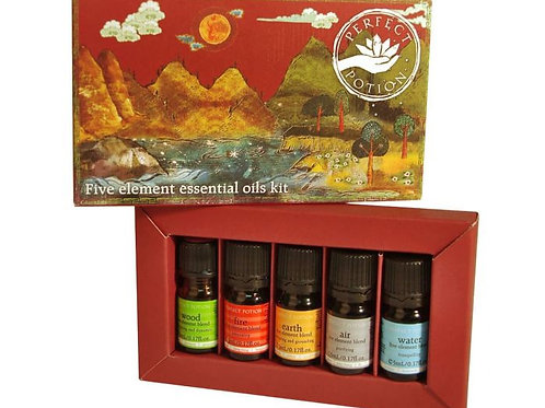 Five Elements Essential Oil Blends Kit