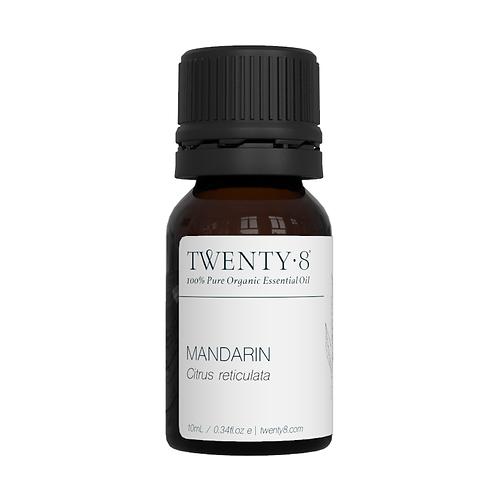 Mandarin Pure Essential Oil - 10ml (Certified Organic)