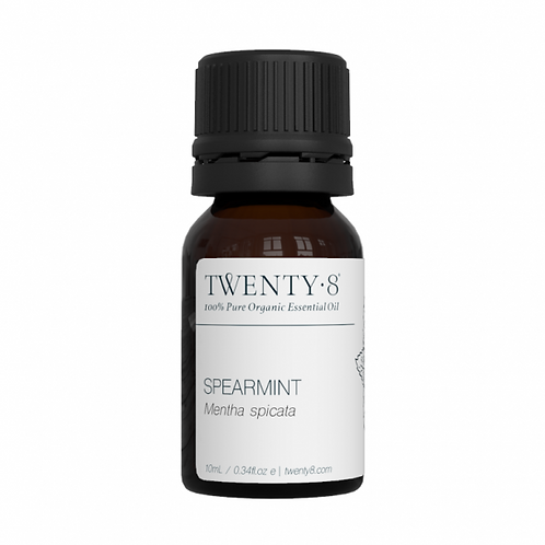 Spearmint Pure Essential Oil - 10ml (Certified Organic)