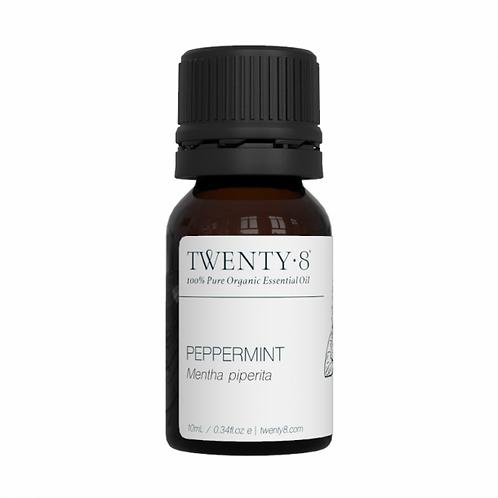 Peppermint Pure Essential Oil - 10ml (Certified Organic)