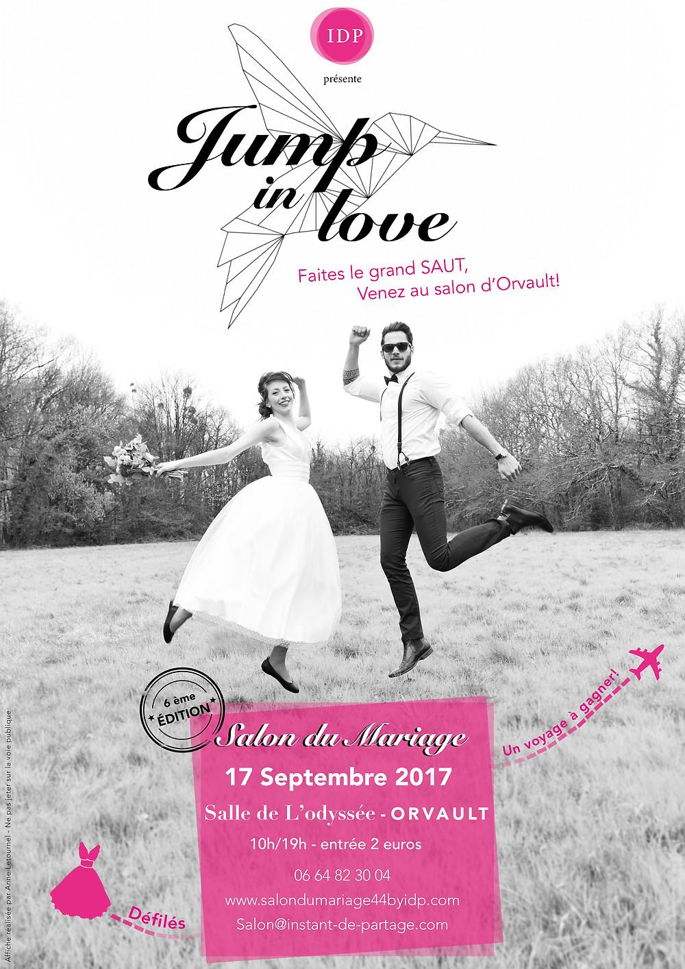 Affiche salon du Mariage Orvault 17 Septembre 2017