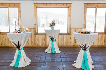 Snowy Range Lodge Laramie Wyoming wedding