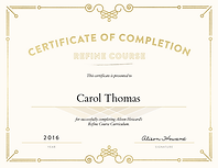 Certification Refine Course