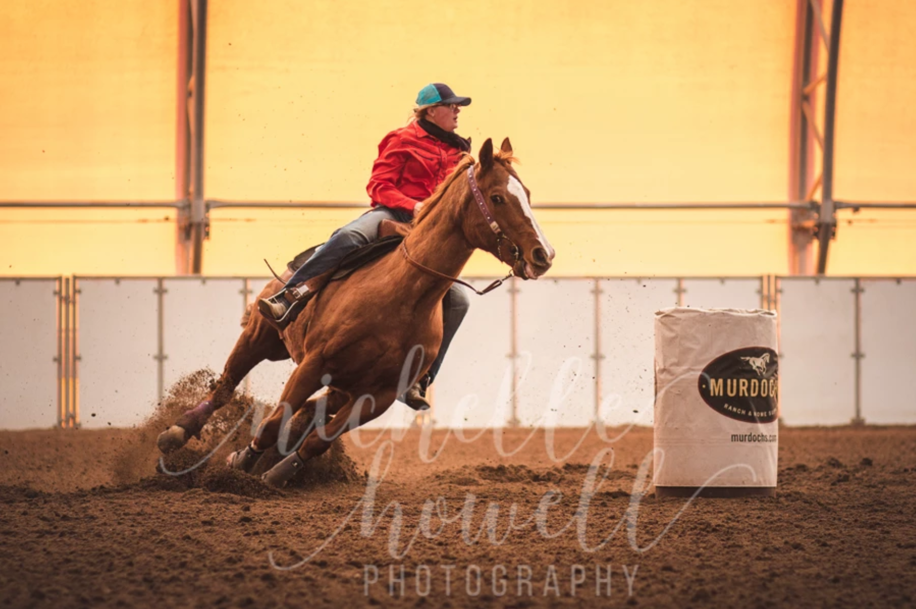 Barrel Race Cheyenne