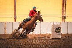 Barrel Race Cheyenne