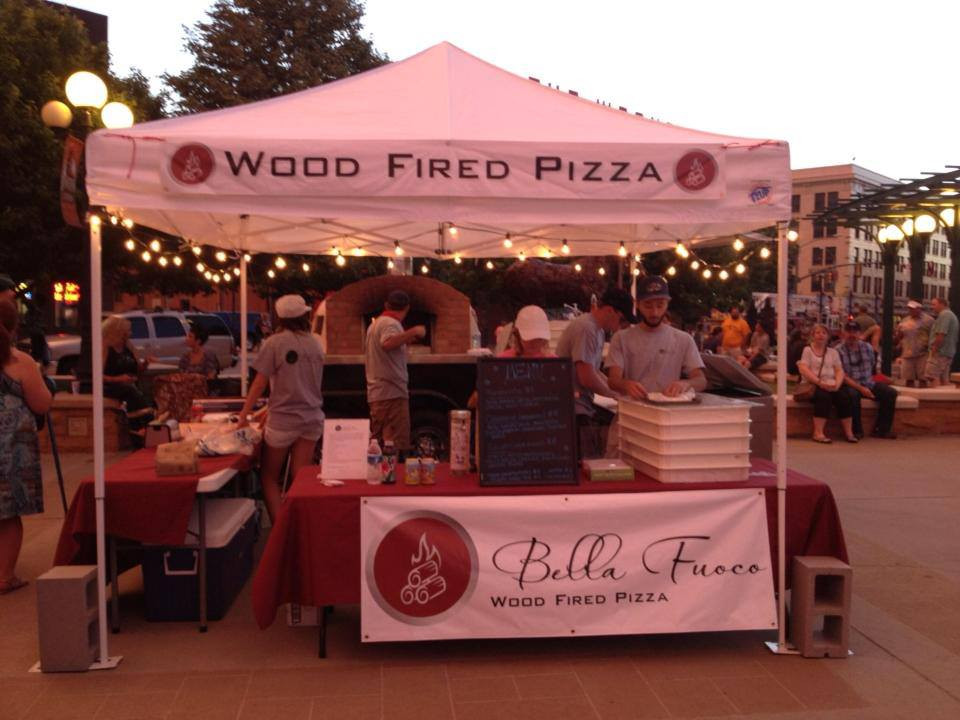 wedding food truck from Bella Fuoco