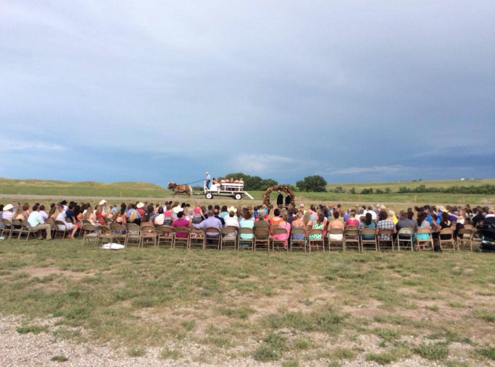 Riata Ranch wedding ceremony