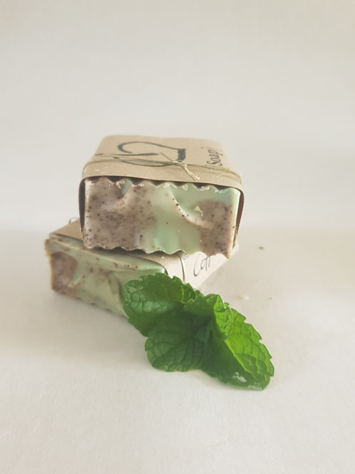 Coffee & Mint Body Wash Bar