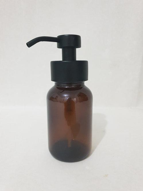 250ml Amber Glass Foaming Soap Dispenser
