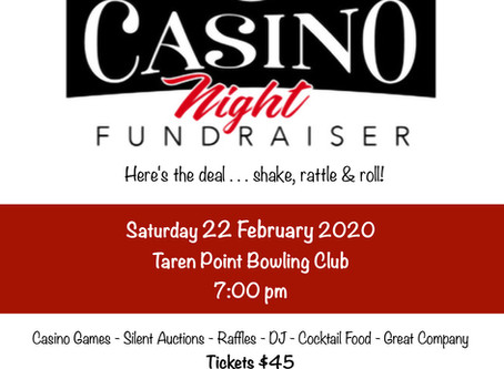 Casino Night - 22nd of February 2020