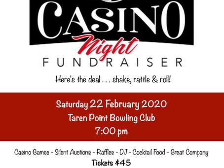 Casino Night - 22nd of February 2020