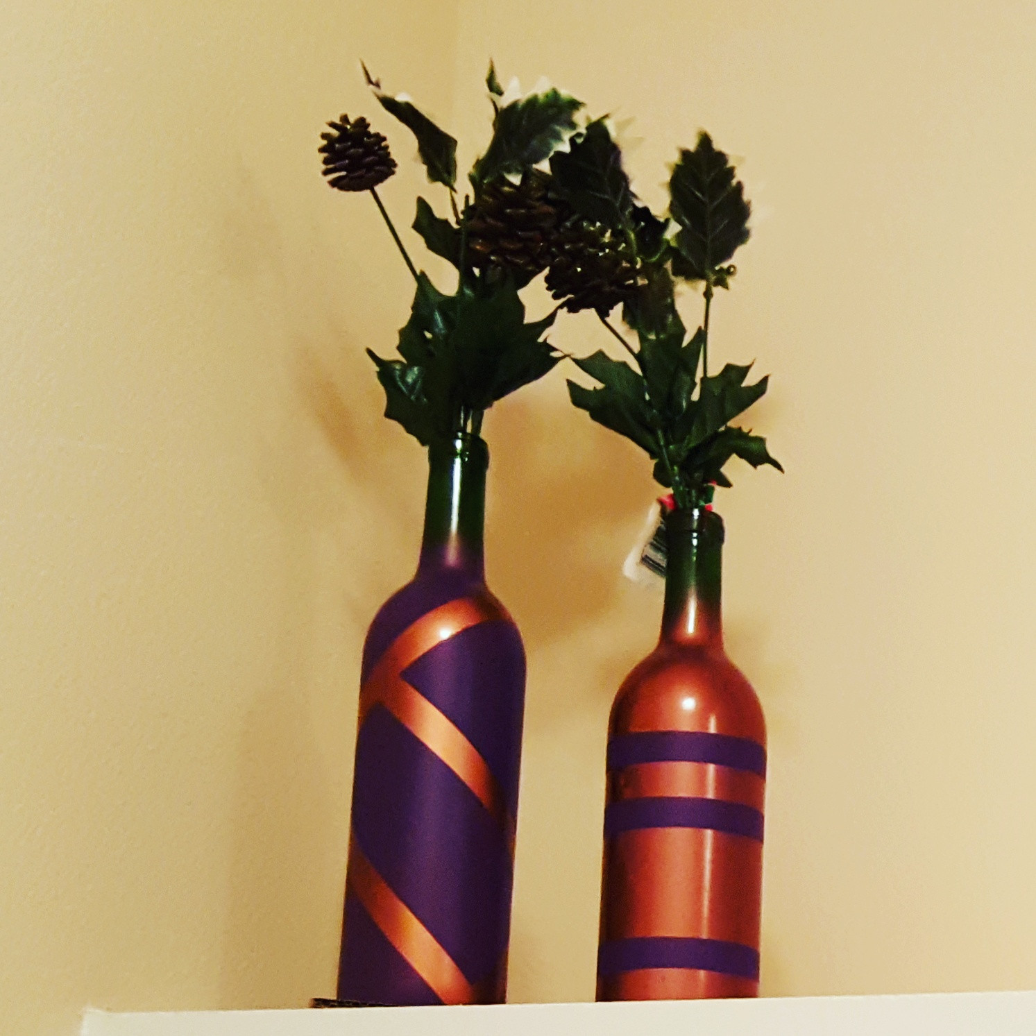 Upcycled Vases