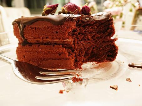 Red Velvet Cake Obsession | milchfrei mit Mandel - Buttermilch und Haushaltszuckerfrei |