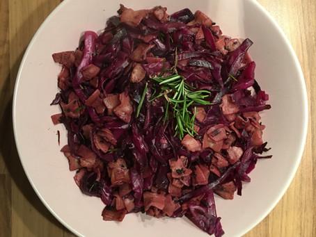 Purpur Krautfleckerl | Extra Vitamin C mit heimischen Wintergemüse