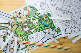 master plan of urban landscape design or