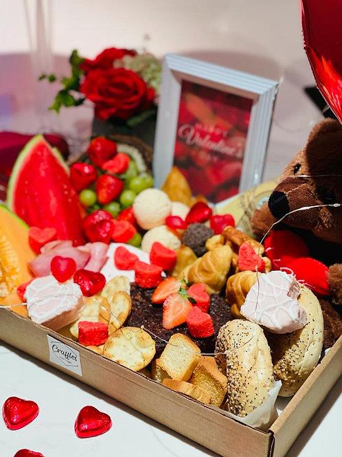 Valentines Day Breakfast Themed Tray