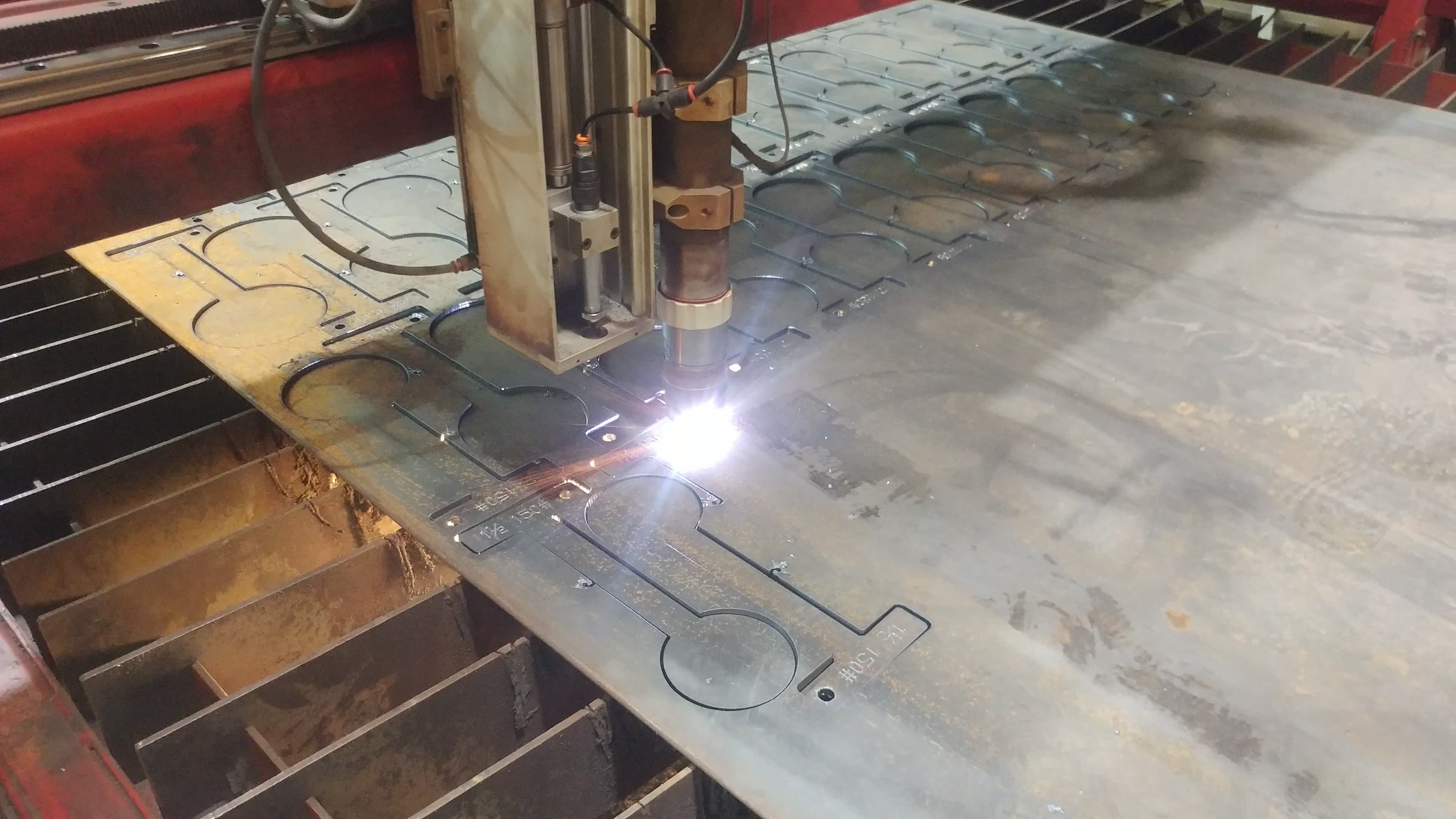 CNC Plasma Slip Blinds