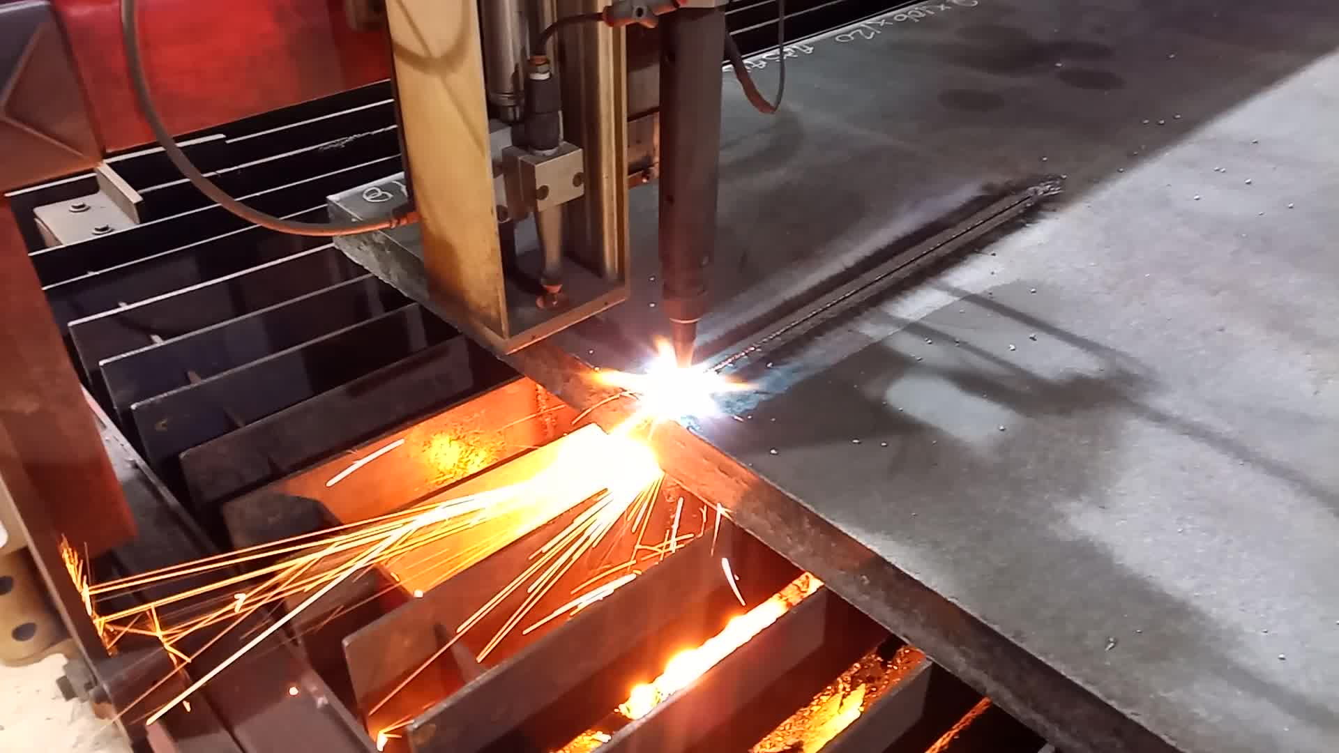 """2"""" A36 Carbon Steel Oxy Cutting"""