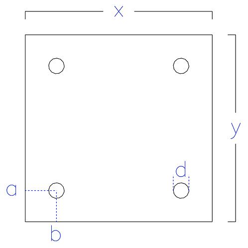 8 X 8 Baseplate