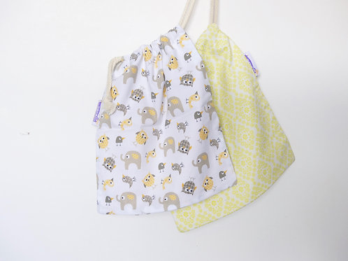 Pack 2 Elefante amarillo