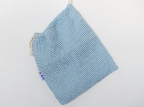 Bolsa con interior impermeable azul