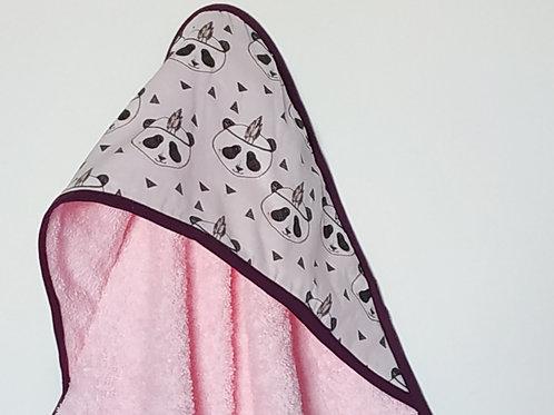 Capa de baño pink panda