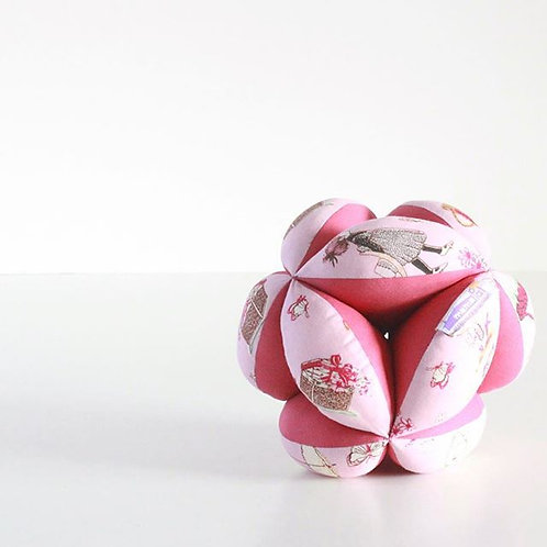 Pelota de prensión tipo Montessori pink lady