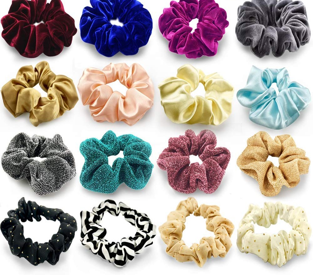 90's Inspired Scrunchies