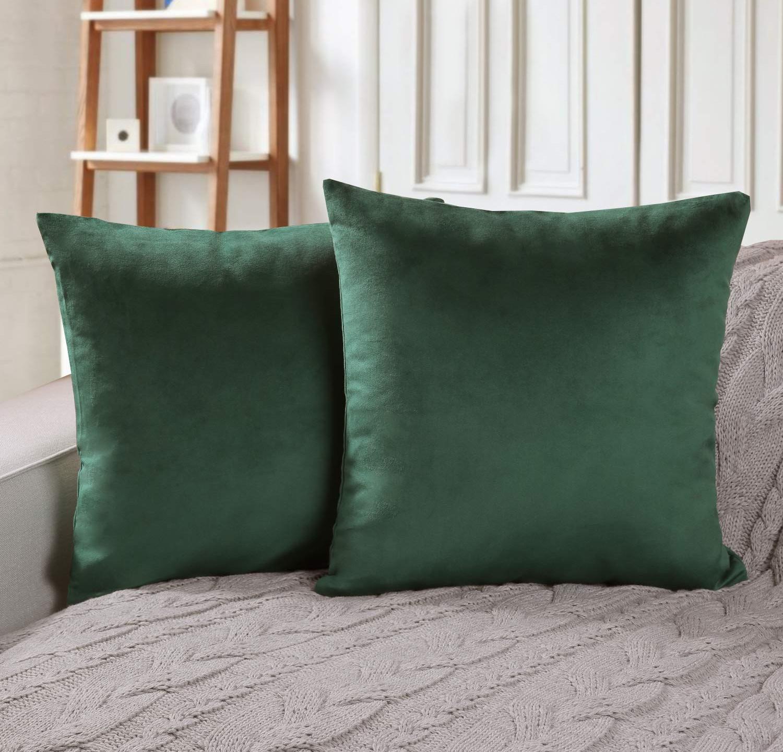 2 Pack Velvet Pillows (multiple colors)