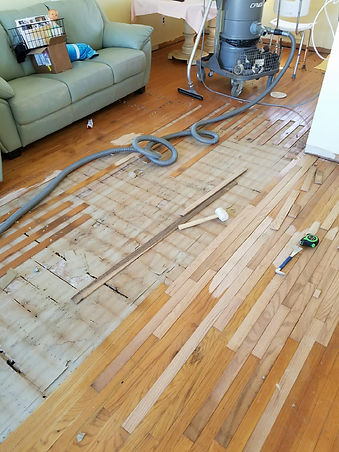 Flooring Refinishing