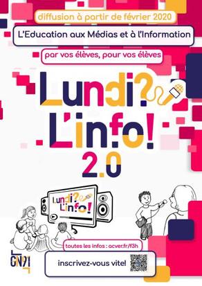 """L'émission de radio créée PAR et POUR des enfants : """"Lundi ? L'info !"""""""