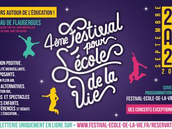 Festival pour l'Ecole de la Vie - 3 jours autour de l'éducation