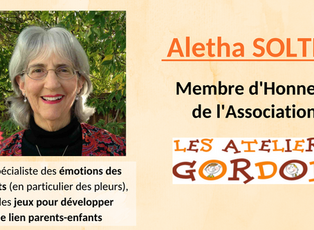 Aletha Solter - Membre d'honneur de l'association