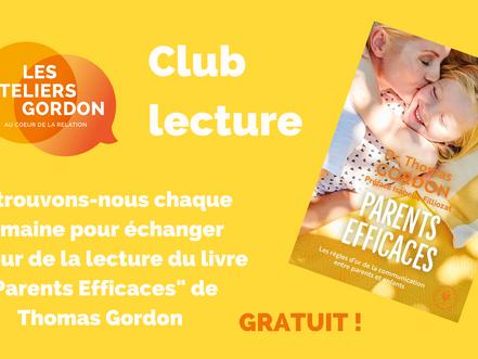 Club lecture de Parents Efficaces