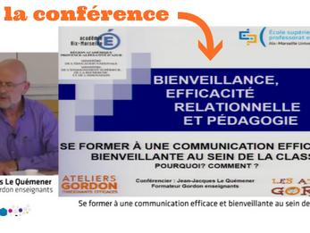 """Conférence pour les Enseignant·es : """"Se former à la communication bienveillante"""""""