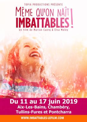 """3 projections du film """"Même qu'on naît Imbattables !"""" en Rhône-Alpes du 11 au 13 juin"""