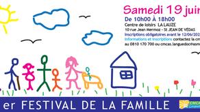 Festival de la Parentalité à Montpellier - 19 juin 2021 - (GRANDS) PARENTS &  (PETITS)-ENFANTS