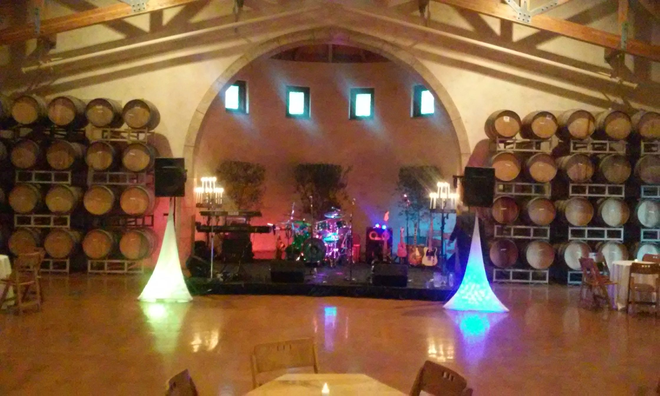 Jacuzzi Winery Stage