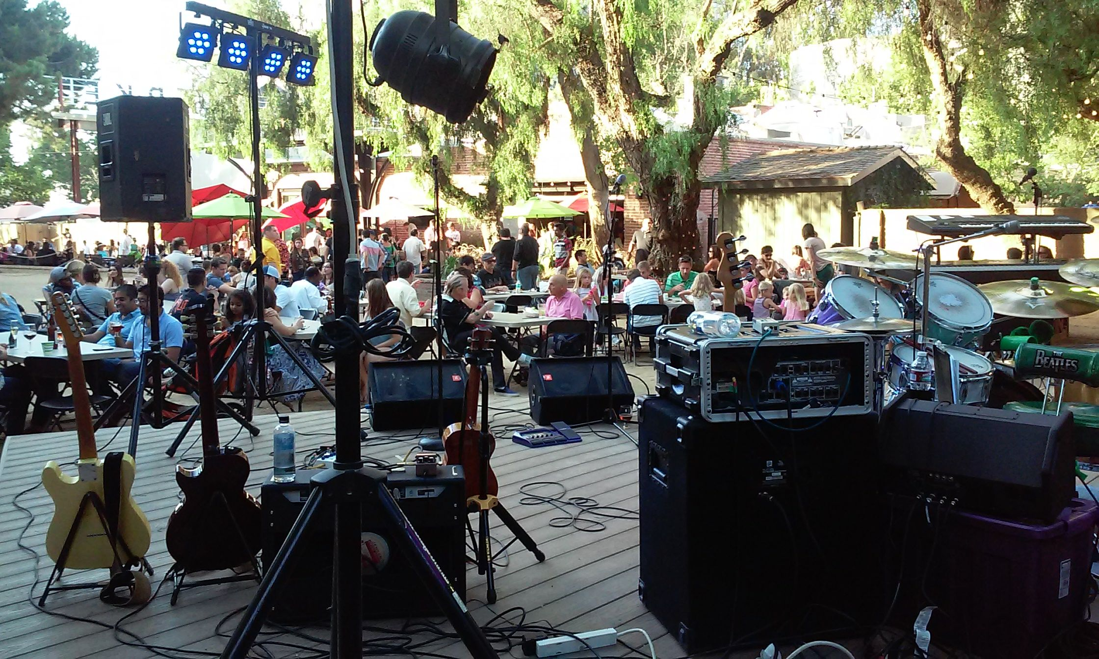 San Pedro Stage