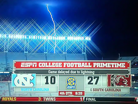 Lightning could kill dozens at a sports venue: the importance of prevention