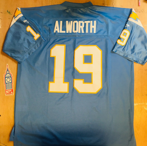 watch 7d989 da9fb San Diego Chargers: Lance Alworth 1965 Throwback Vintage Jersey (XXL)