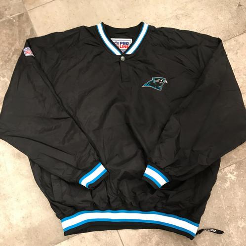 hot sale online 2e259 fceb3 Carolina Panthers - Starter Sideline Jacket (XL)