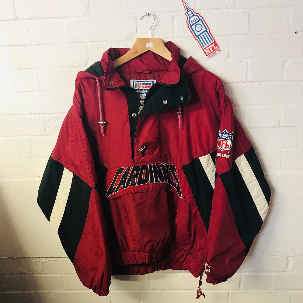 check out 03489 bd887 Arizona Cardinals: Halfzip Proline Starter Jacket (M) | NFL ...