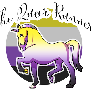 Queer Runner Logo