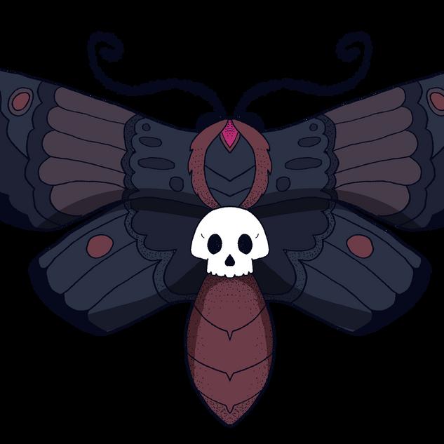 Goth moth