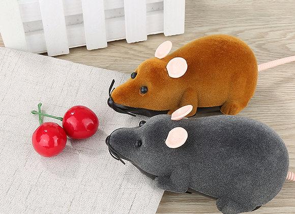 リモコン操作 電動ネズミ