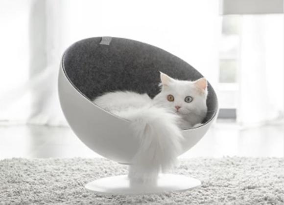 フレンチスタイル 猫用ベッド