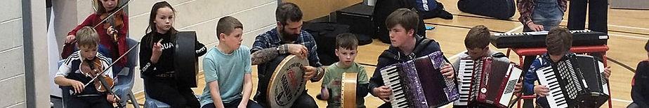 Fèis Spè kids in concert